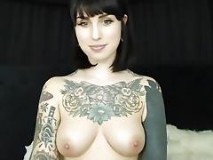 I got hot in my sexy homemade webcam video clip