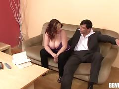 Chunky mature amateur banged hard by a businessman