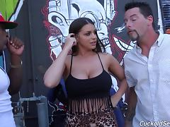 Ghetto, Big Cock, Big Tits, Black, Blowjob, Boobs