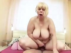 Caught, BBW, Big Tits, Blonde, Blowjob, Boobs