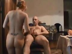 Amateur blonde wife homemade