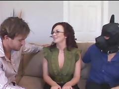 Husband watches wife get fucked tube porn video