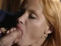 Awesome facial for redheaded whore porn tube video