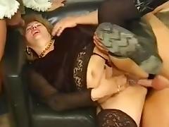 HUNGARIAN BBW GRANNY LOTTA NOLETTY GANGBANGED porn tube video