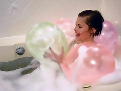 Bathing, Balloon, Bath, Bathing, Bathroom, Fetish
