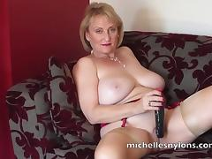 Mature Fetish, HD, Mature, Old, Stockings, Older