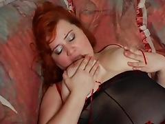 big mom Arina masturbate 1