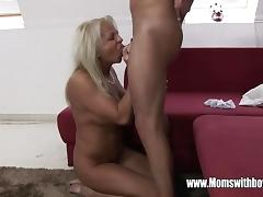 Blonde stepmom loves to fuck tube porn video