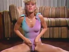 Blonde, Blonde, Dance, Jerking, Masturbation, Vintage
