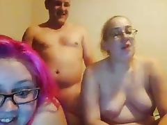 Daughter, BBW, Blowjob, Chubby, Chunky, Double