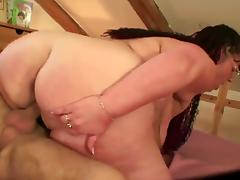 BBW Granny Can Catch A Dick Whenever She Wants