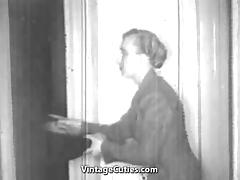 Cool Bang and Oral Sex Before Bedtime (1930s Vintage) porn tube video