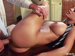Big Tits at School: Touching the Tutor. Black Angelika, Jay Snake tube porn video