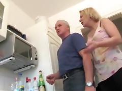 Brutal, Brutal, Handjob, Kitchen
