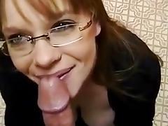 Mature redhead amateur blowjob huge facial