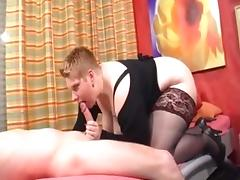 German BBW porn tube video