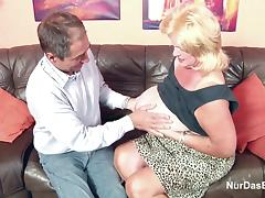 Monster Tit Granny fucks Big Dick Grandpa in Casting porn tube video