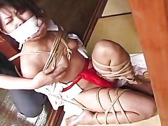 Kinky asian bound and gagged