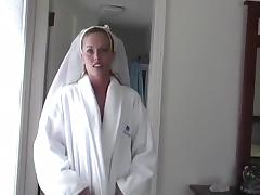 Crazy amateur movie with stockings, wife, doggy style scenes