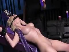 Blonde, BDSM, Blonde, Bound, Orgasm, Tied Up