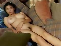Busty Japanese idol bunny tube porn video