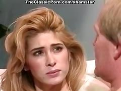 Tiffany Mynx, Dick Nasty in deep throat from busty classic tube porn video
