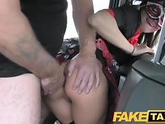 Fake Taxi Hot Anal in Halloween costume tube porn video
