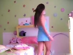 My asian girlfriend rubbing her bun tube porn video