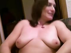 In mature homemade porn, I'm touching my curves