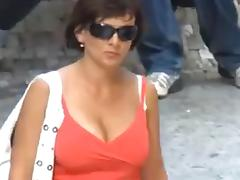 All, Boobs, Compilation, Public, Voyeur, Tits