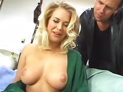 Perfect body blonde gets her ass fucked porn tube video