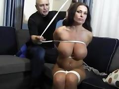 goldie nude rope so tight