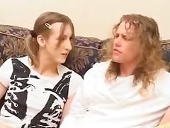 Teen Crossdresser Pleases New Boyfriend