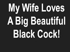 My pretty wife can't live without a pretty dark dick