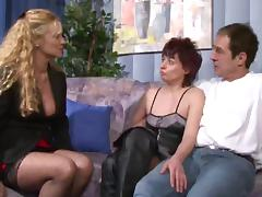 German matures blow guys and get boned in group scenes tube porn video