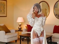 Bride, Boobs, Bride, Clothed, Erotic, Lingerie