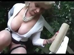 All, Big Tits, Masturbation, Outdoor, Lady