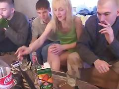 Banging, Amateur, Banging, Blonde, Drunk, Gangbang