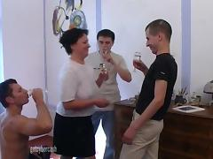 Mom and Boy, Fucking, Granny, Mature, Old, Russian