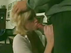 Blonde Shemale Getting Plowed