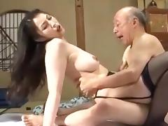 Grandfather and not his daughter-in-law is fuck tube porn video