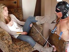 femdom heel cbt humiliation by sexy dom porn tube video