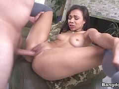 Skyler Nicole in Adrian Maya Gets Banged Up! Video