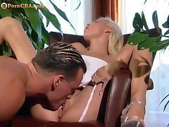 Beautiful blone hard sex tube porn video