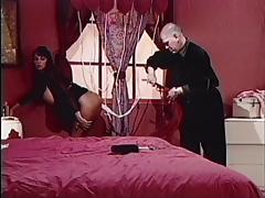 Brunette gets hoses up her ass porn tube video