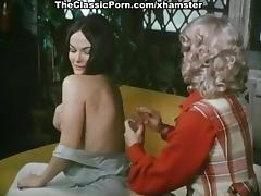 Tina Russell, Georgina Spelvin, Teri Easterni in vintage sex porn tube video