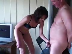 Wife, Backstage, Femdom, Lingerie, Mature, Penis