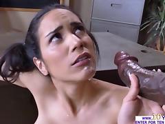 Busty babe Tia rides her PE guros cock porn tube video