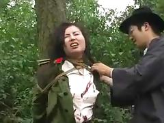Chinese army girl tied to tree 1 porn tube video