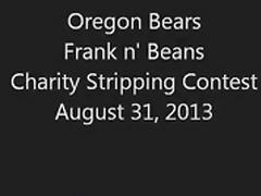 Ginger Bear Stripping Undressed 2013